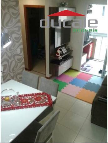 Apartamento residencial à venda, Jardim Camburi, Vitória. - AP0836