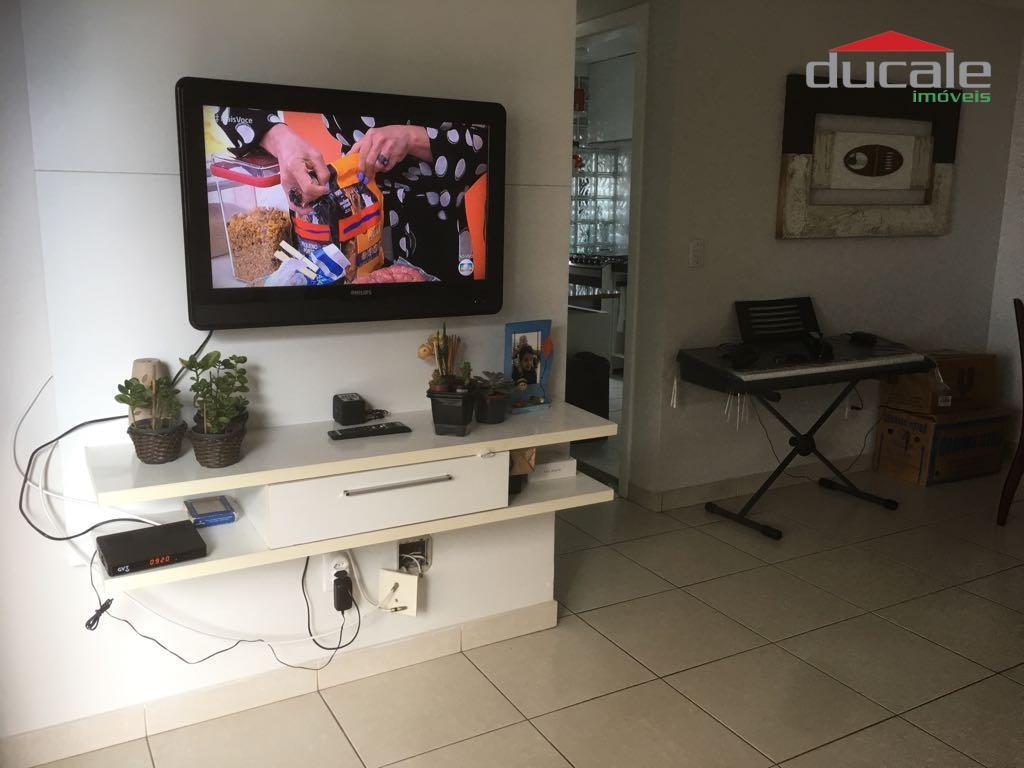 Apartamento residencial à venda, Jardim Camburi, Vitória. - AP0920